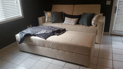 storage sofa convertible  bed ana white