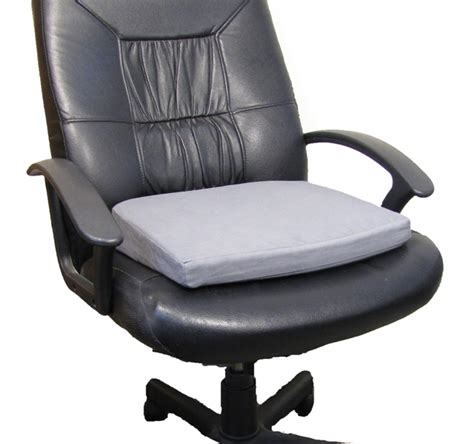 Office Chair Cushion Memory Foam Thick Seat Wedge Tailbone Cushion Posture Aid
