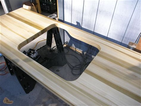 How To Make A Butcher Block Countertop by Diy Butcher Block Countertop In Poplar By Jim Mcclain