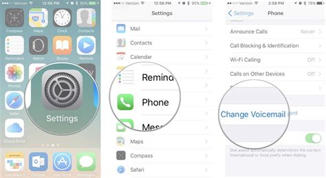 reset voicemail password iphone how to set up and use voicemail on iphone imore
