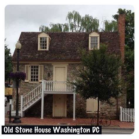 Washington Dc Old Stone House Around My World Where I Ve Been P