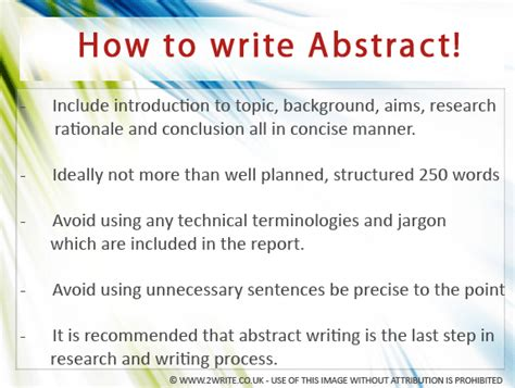 how to write a abstract for a research paper week 12 nungning e portfolio
