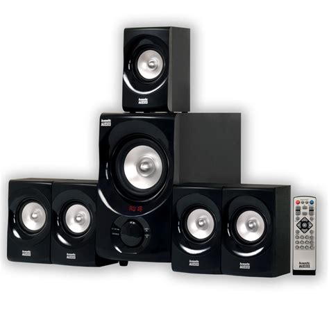 acoustic audio aa5171 5 1 channel 700w bluetooth home