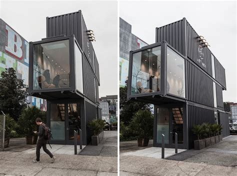 container store aether apparel stacked shipping container store located