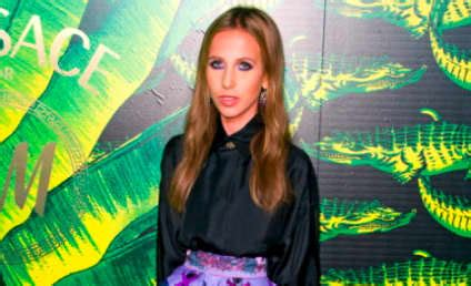 Allegra Versace Clings To In Anorexia Battle by Donatella Versace The Gossip