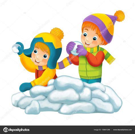 imagenes niños jugando en la nieve sc 232 ne du dessin anim 233 avec des enfants qui jouent avec de