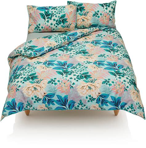 Marks And Spencer Bedding Sets Marks And Spencer Tropical Palm Print Bedding Set Shopstyle Co Uk Duvets