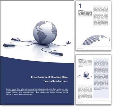 cover page design template for word royalty free courses microsoft word template in blue