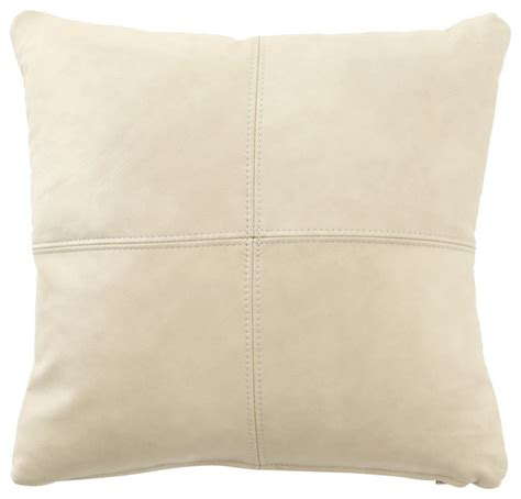 cream couch pillows cream leather pillow cream contemporary decorative