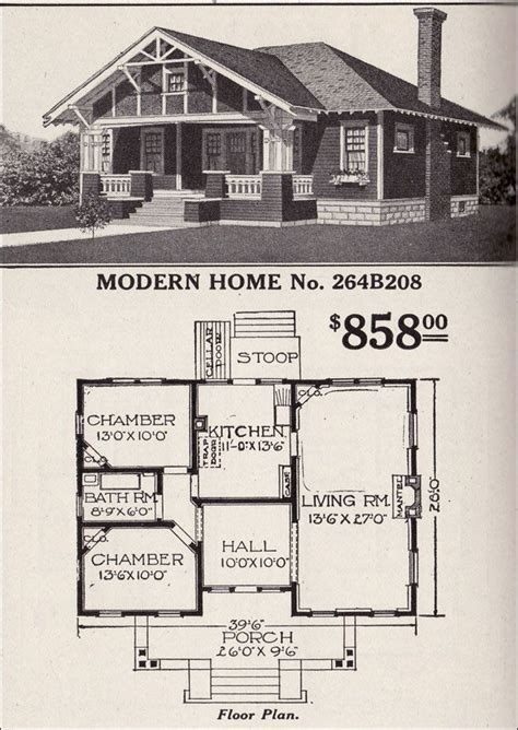 house plans with hip roof styles sears roebuck bungalow house plan modern home no