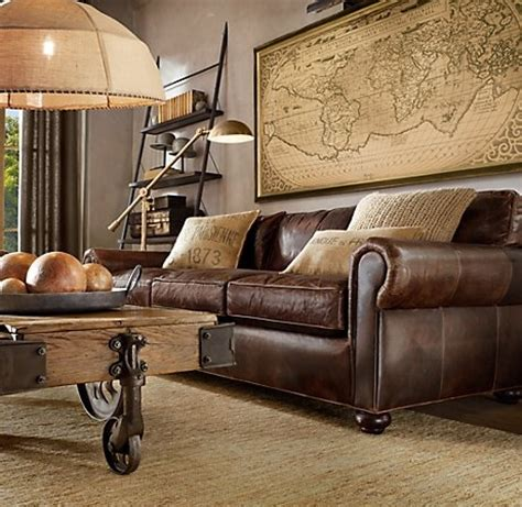 Pottery Barn Leather Sleeper Sofa Choose The Right Leather Couch Oak Furniture And Sofa Com