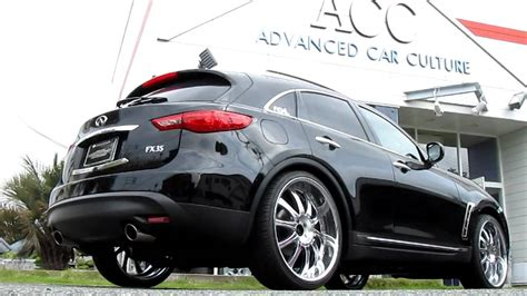 infiniti fx airrunner airsuspension systems youtube