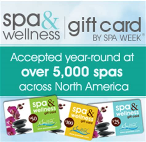 Spaweek Gift Card - 25 spa week gift card winners contest corner the best giveaways on the net