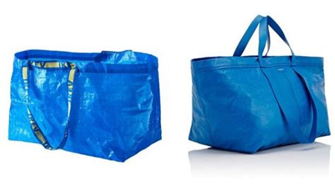 Ikea Frakta Kantong Belanja Ukuran Besar Warna Biru tas seharga rp 28 juta ini dianggap mirip tas belanja ikea gaya tempo co