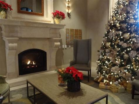beautiful lobby with fireplace picture of eilan hotel