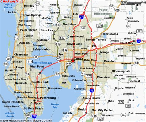 map of ta florida and surrounding area map ta florida surrounding area