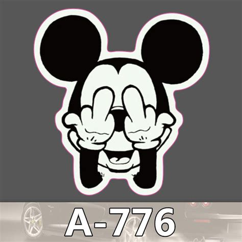 Coole Roller Aufkleber by A 776 Mickey Waterproof Cool Diy Stickers For Laptop