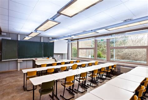 classroom lighting layout optimized lighting conditions help students improve