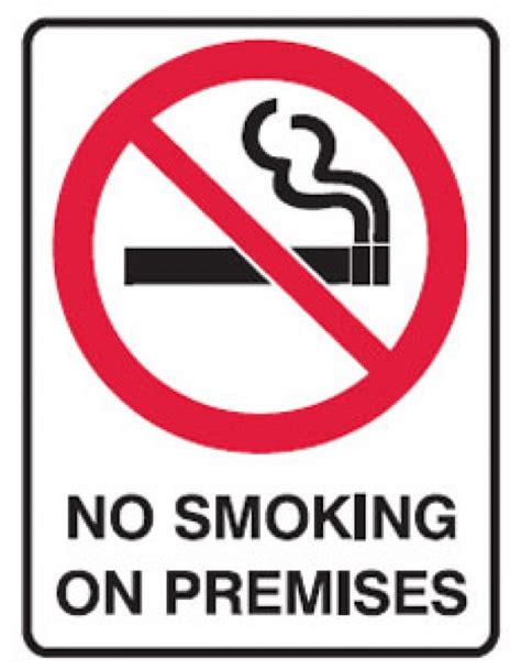 no smoking sign pie no smoking picto no smoking on premises sign metal