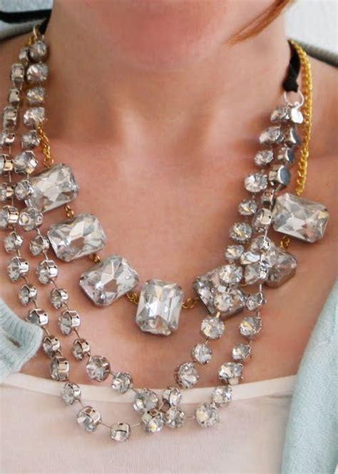 chunky rhinestone necklaces allfreejewelrymakingcom