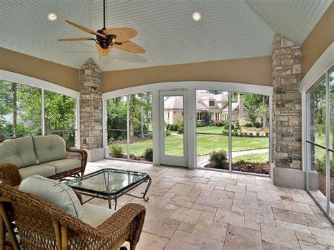 Enclosed Patio by Enclosed Porch Remodel Ideas