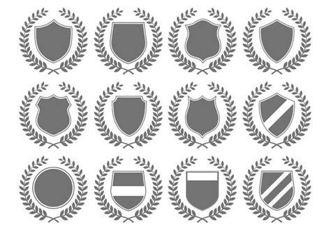 emblem vector vector heraldic crest emblems free vector