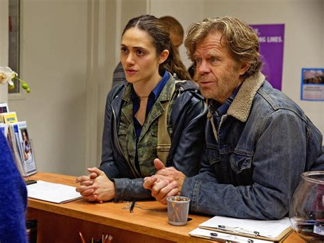 emmy rossum and william macy william h macy addresses emmy rossum s shameless exit