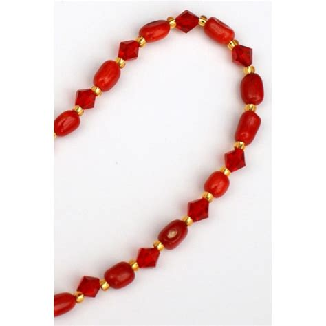 coral bead necklace coral bead necklace