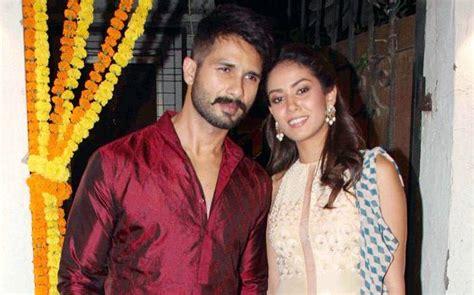 sahid kapur whif photo danvnlod watch shahid kapoor s wife mira rajput looks adorable in