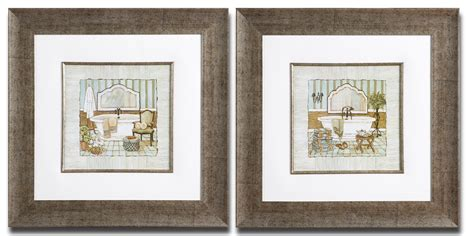 bathroom framed prints wall art designs kirklands wall art elegant vintage