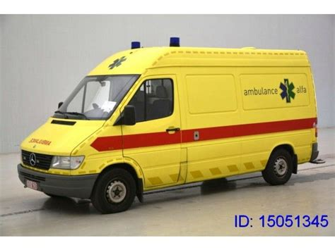 mercedes sprinter 312 ambulance sale buy price