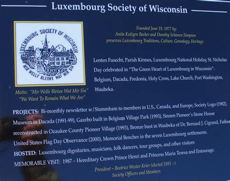 luxembourg american culture belgium wisconsin travel luxembourg american culture belgium wisconsin travel