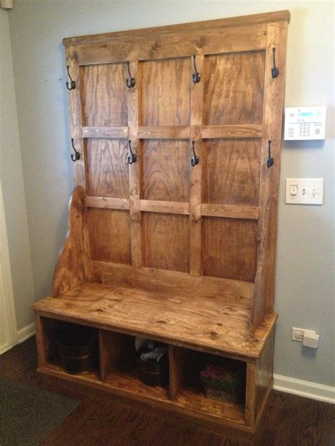 Hall Tree With Storage Bench Furniture Free Woodworking Plans Hall Tree With Model Styles In