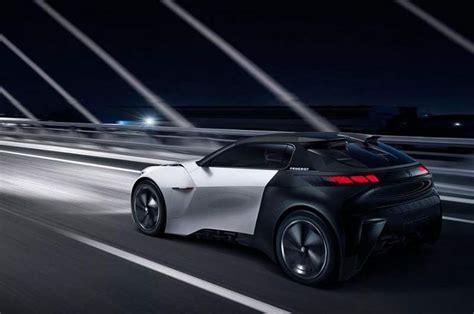 peugeot electric car peugeot fractal electric car concept wordlesstech