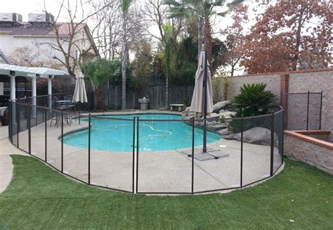 removable pool fence temporary removable pool fences gates in clovis child safe mesh pool fencing contractor