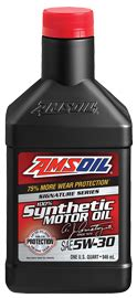 Amsoil Signature Series 5w30 Liter amsoil signature series 5w 30 synthetic motor