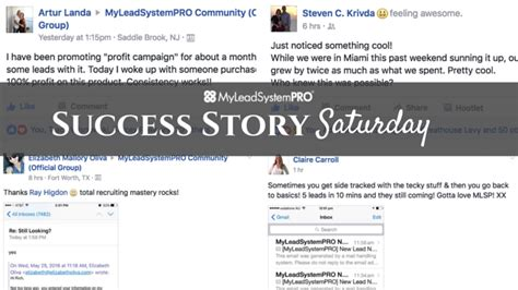 commit to get leads success in 5 minutes a day 5 minute success volume 2 books success story saturday quot 5 leads in 10 minutes and they