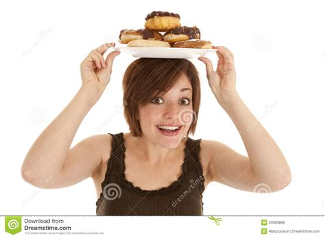 plats in head gallery happy plate on head royalty free stock photos image