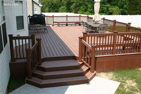 deck stairs ideas 18 best decks images on backyard deck designs