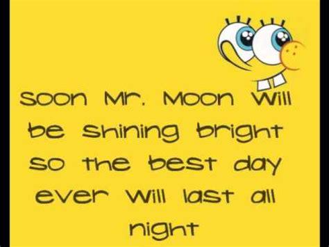 best day songs the best day spongebob squarepants lyrics