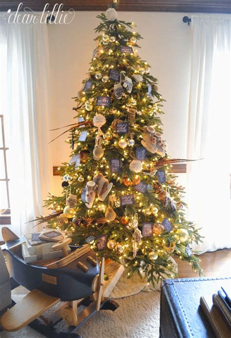 tree decorating ideas and gold brown and gold themed tree tree decorating ideas