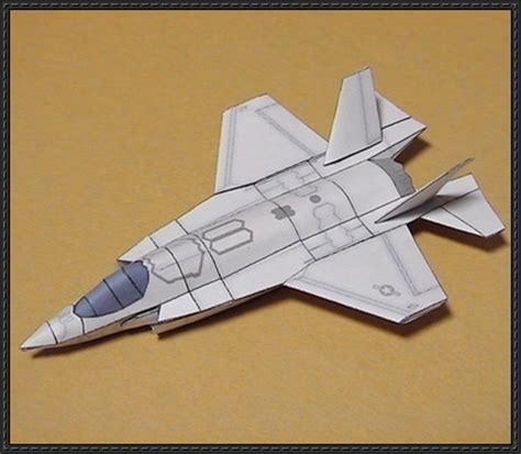 Paper Craft Square - lockfeed martin f 35 lightning ii papercraftsquare