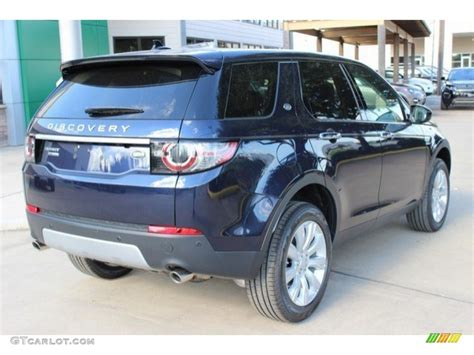 tan land rover discovery 2016 loire blue metallic land rover discovery sport hse