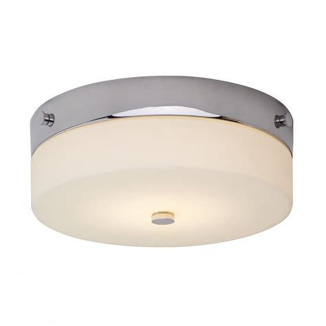 medium bathroom flush mount light ceiling fitting circular bathroom ceiling light fitting in opal glass with chrome