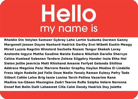 name this a list of middle names i would not give my child