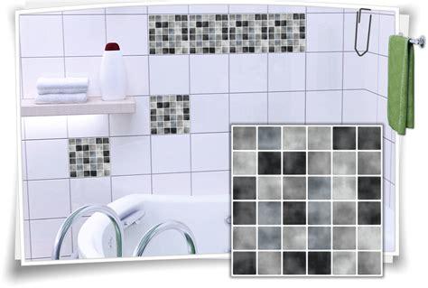 Fliesenaufkleber Mosaik by Fliesenaufkleber Mosaik Grau Medianlux Shop