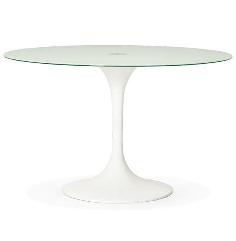 witte ronde eettafel ronde witte design eettafel alexia design tafel 216 120 cm