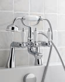 bath tap with shower bathroom taps basin amp bath taps diy at b amp q