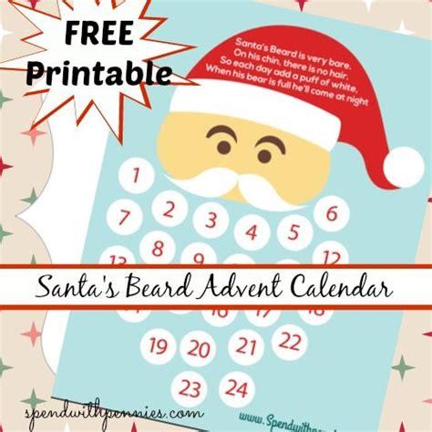 printable advent calendar santa cotton ball santa printable search results calendar 2015