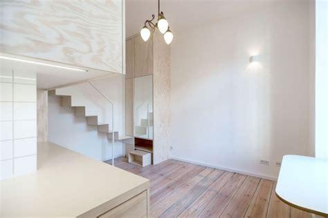 Rangement Petit Appartement by Am 233 Nager Un Petit Appartement Int 233 Rieur Blanc Et Accents Bois